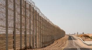 """הגבול עם ירדן - סימני עקבות בגבול ירדן; צה""""ל מנהל מצוד"""