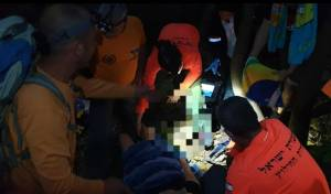 בן 19 טייל במורדות הכרמל, נפצע וחולץ