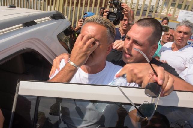 """""""שמע ישראל"""", קובי פרץ בצאתו מהכלא"""