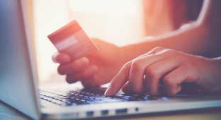 קניות ברשת קניות באינטרנט כרטיס אשראי