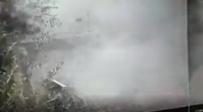 צפו: רגע הפיצוץ של בלון הגז בשכונת קטמון