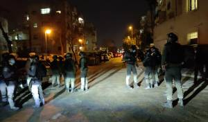 השוטרים נכנסו ל'בעלזא' אך הבנין היה ריק