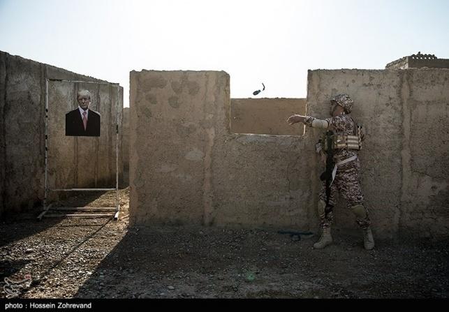 המטרות באימון האיראני: נתניהו וטראמפ
