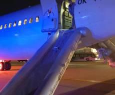 זירת הנפילה - ישראלית נפלה מהמטוס; מצבה עדיין קריטי