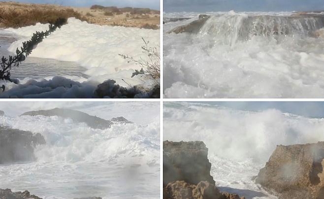 מדהים: כך נראה חוף דור בנים • צפו בווידאו