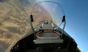 מטוס קרב גרמני תיעד את נופי הנגב • צפו