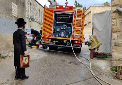 בן 30 נספה בשריפה בדירה במאה שערים