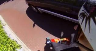 מפחיד: עף ברחובות עם סקייטבורד