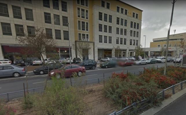 מרכז העסקים בשכונת גבעת שאול. הפקקים יחריפו - פקקי התנועה בי-ם יחמירו כבר בזמן הקרוב