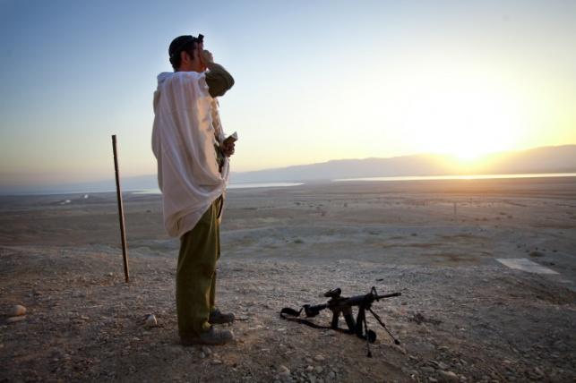 הגבול עם ירדן באזור ים המלח
