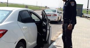 שתי נערות נמצאו בתוך תא מטען של רכב