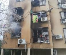 הבניין שנשרף