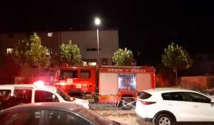 גבר כבן 70 נשרף למוות בתוך דירת מגורים