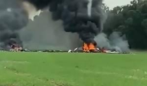 אסון המטוס; השניות שאחרי הנפילה