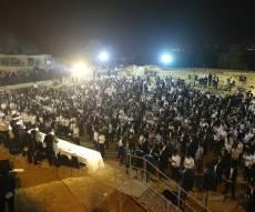ההמונים בעצרת הסליחות, אמש