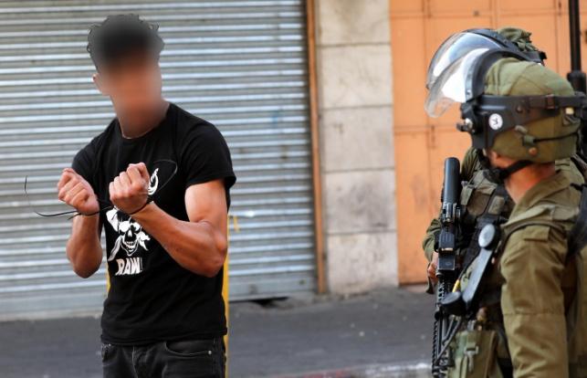 עצור מינהלי הותקף על ידי חיילי 'נצח יהודה'