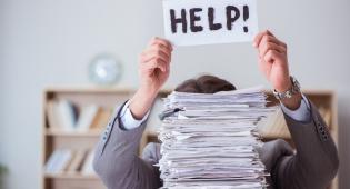 בלגן - לא כאן: 3 צעדים פשוטים להשתלט על ערימות ניירת