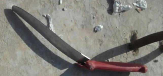ניסיון פיגוע דקירה סוכל; המחבל חוסל בירי