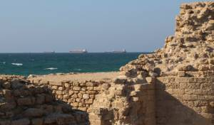 מבנה ארכאולוגי ליד חופי אשדוד