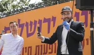 המשאית שמרקידה את ירושלים: נגיע לכולם