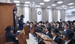 תלמידי הישיבה התחזקו לזכר קורבנות מירון