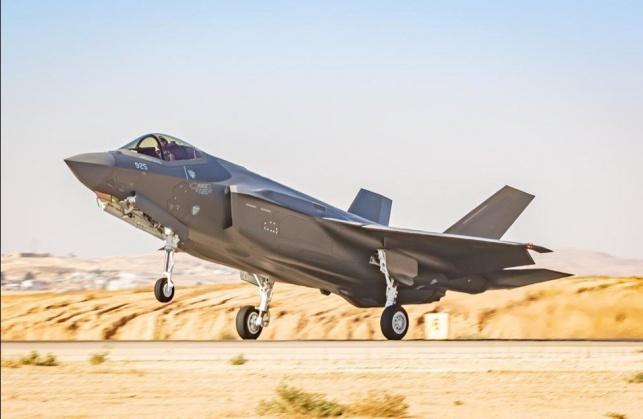 """שני מטוסי """"האדיר"""" החדשים נחתו בישראל"""