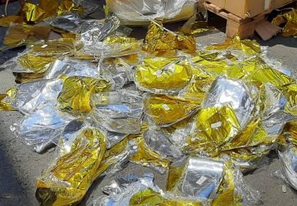 סוכלה הברחת עשרות אלפי בלונים לרצועה