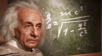 דמותו של איינשטיין במוזיאון השעווה