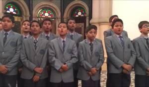 """""""עושה שלום"""": הילדים המוסלמים ריגשו. צפו"""