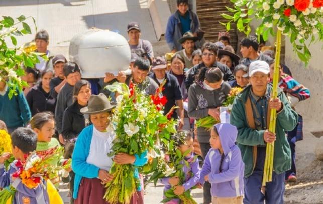הלוויה בפרו