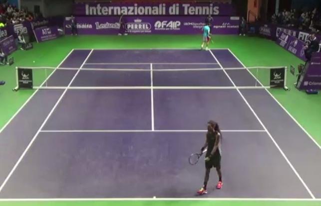 צפו: האם זו היא 'נקודת השנה' בטניס העולמי?
