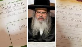 היתום שיגר מכתב לאבא 'בגן עדן' וזכה לחיזוק אישי מהרבי