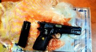 נשק שנתפס - נעצרו 3 ערבים שתכננו פיגוע בהר הבית