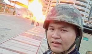 בשידור חי: חייל הרג עשרים אנשים בתאילנד