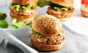 המבורגר סלמון וקינואה - ההתמכרות הבאה שלכם: המבורגר סלמון