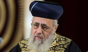 """תימהוני איים על הראשל""""צ הרב יוסף ונעצר"""