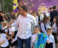 צפו: חיים ישראל ליווה את היתום ללימודים