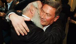 הרב גרוסמן ונוחי דנקנר