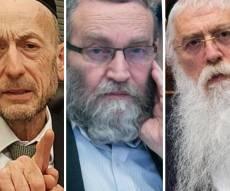 """חברי הכנסת מקלב, פרוש וגפני, העוסקים בסוגיה הבוערת - הגר""""ד סולובייצ'יק : לח""""כים החרדים """"אין יראת שמים; הכל רקוב"""""""