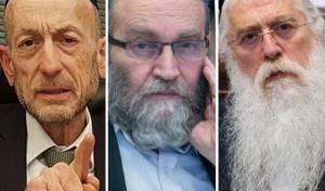 חברי הכנסת מקלב, פרוש וגפני, העוסקים בסוגיה הבוערת