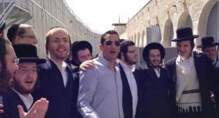 חיים ישראל חברת בחורי הישיבה בקבר רחל
