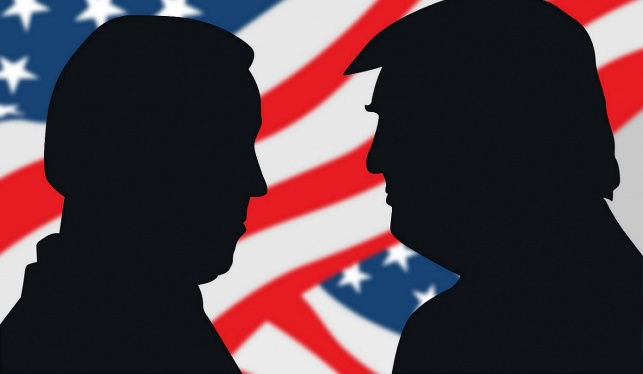 טראמפ וביידן ערב התגוששות ממושכת