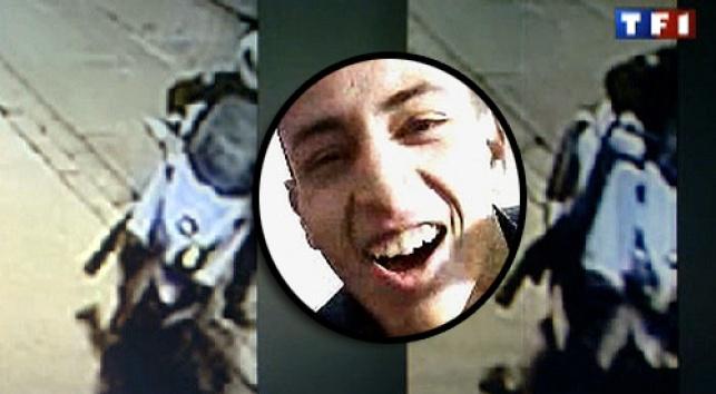 המחבל על רקע הקטנוע בו השתמש לרצח