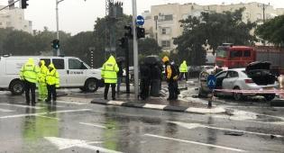 תושב אשקלון נפצע מפיצוץ ברכב; מצבו קל