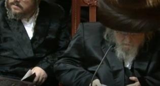 צפו: תיעוד ממסע ההלוויה של האברך מוטי קליין