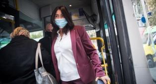 מירי רגב באוטובוס, ארכיון