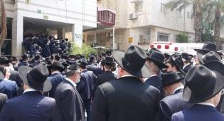 """תיעוד דומע: מאות מלווים את בני בריף ז""""ל"""
