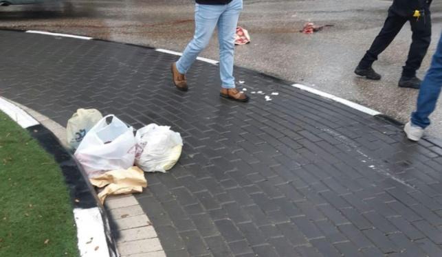 הקניות בזירת התאונה