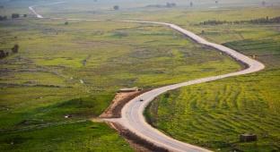 נופים מרהיבים מרמת הגולן וגבול הצפון
