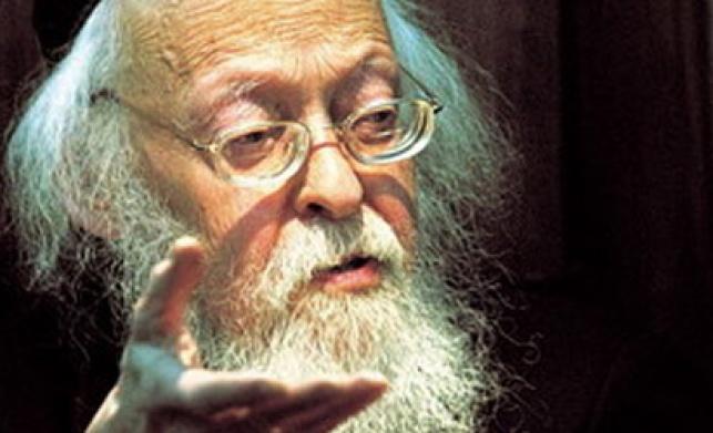 הרב אלישיב (צילום: פלאש 90)